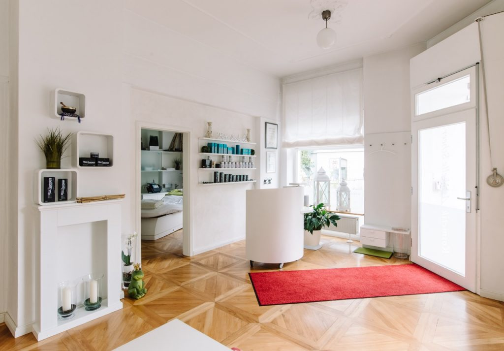 Kosmetik Anabelle Scheer Empfangsbereich