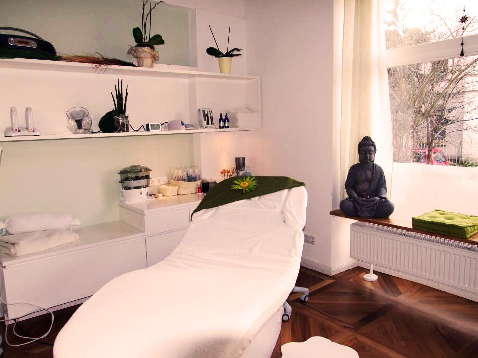 Kosmetik Anabelle Scheer Behandlungsraum
